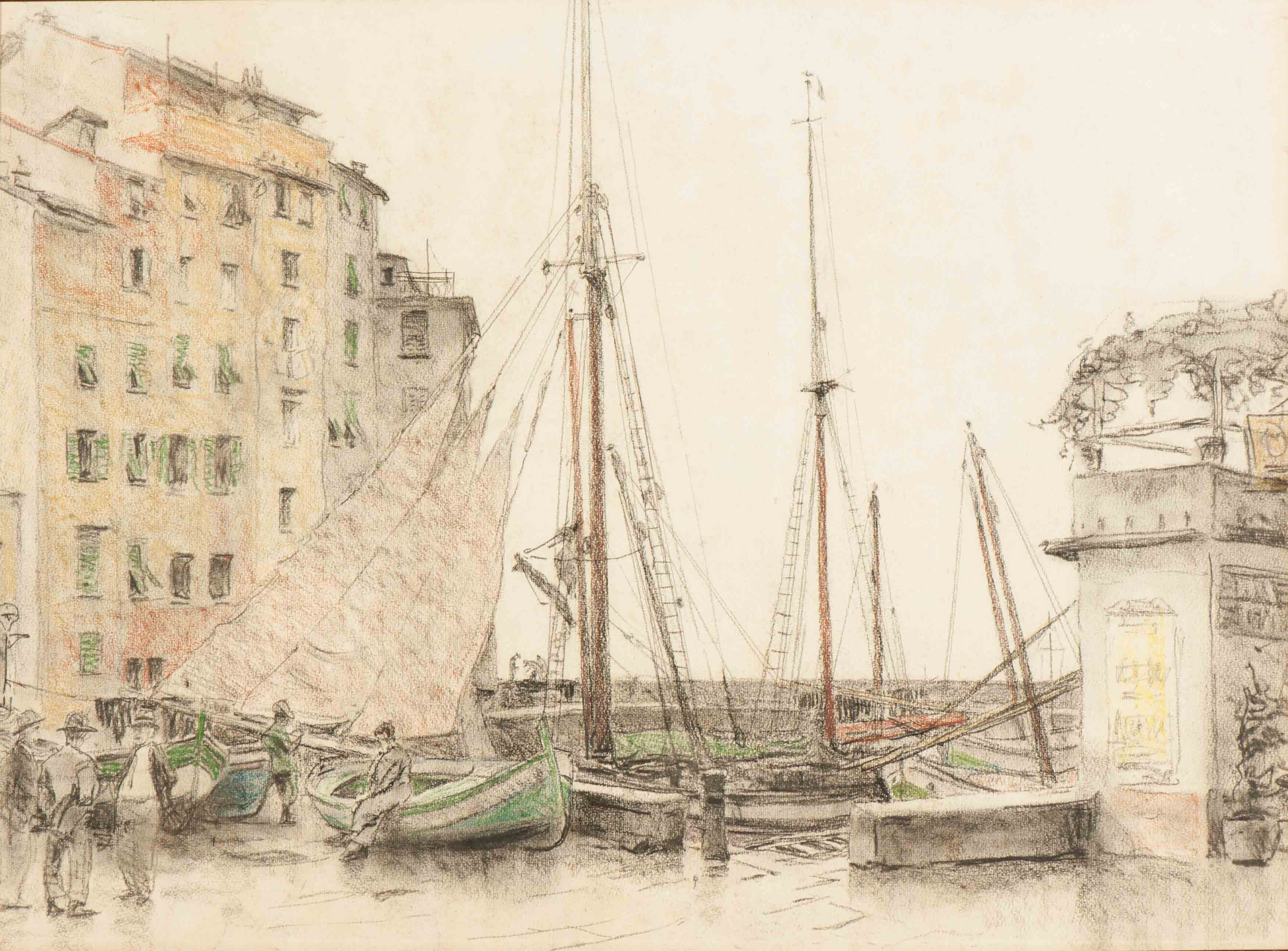 In de haven van Camogli (1938)