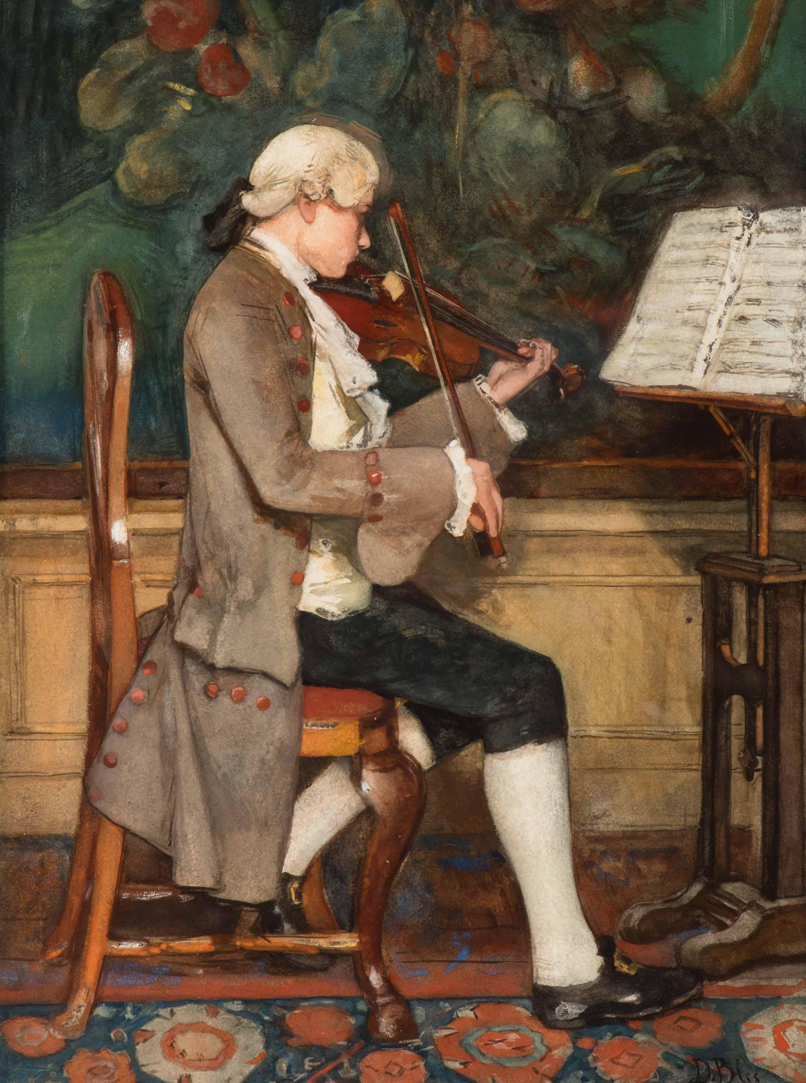 De vioolspeler